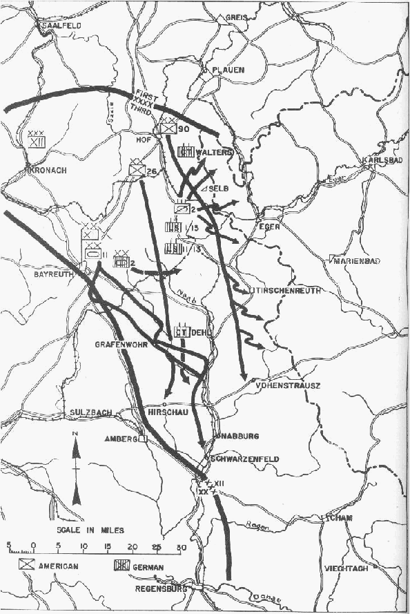 xiichptr16 19th Infantry Division 2 into austria and the myth of the national redoubt
